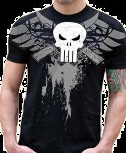 clothing-The-Punisher-T-shirt-(-Black-)