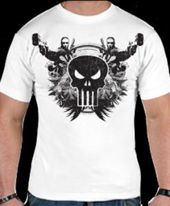 clothing-The-Punisher-T-shirt-(-White-)